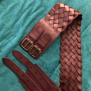 New Belt leather